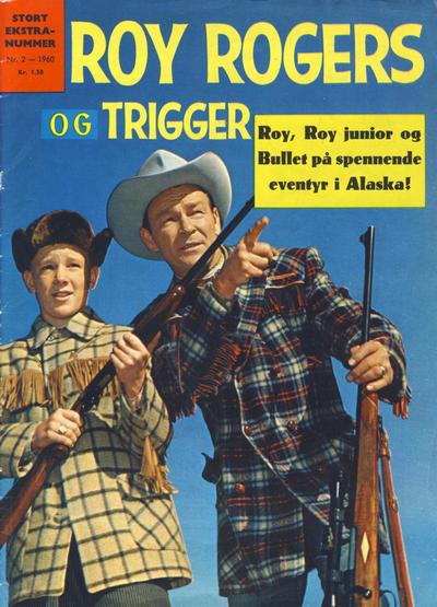 Cover for Roy Rogers (Serieforlaget / Se-Bladene / Stabenfeldt, 1954 series) #2/1960