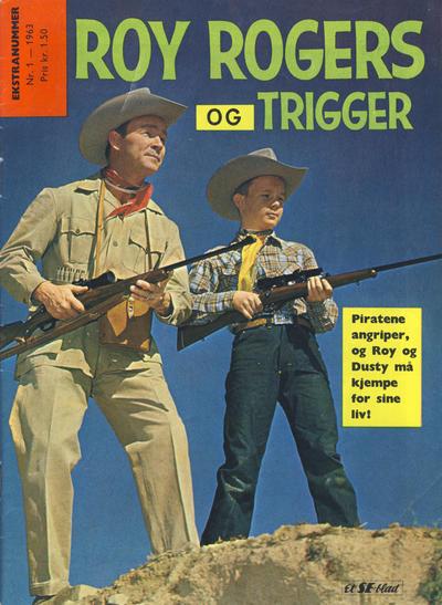 Cover for Roy Rogers (Serieforlaget / Se-Bladene / Stabenfeldt, 1954 series) #1/1963