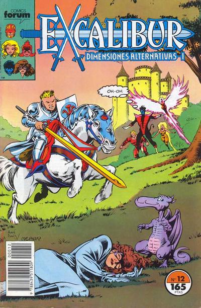 Cover for Excalibur (Planeta DeAgostini, 1989 series) #12