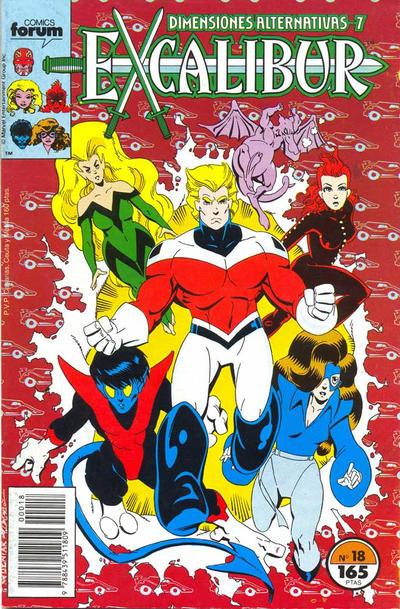 Cover for Excalibur (Planeta DeAgostini, 1989 series) #18