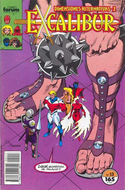 Cover for Excalibur (Planeta DeAgostini, 1989 series) #13