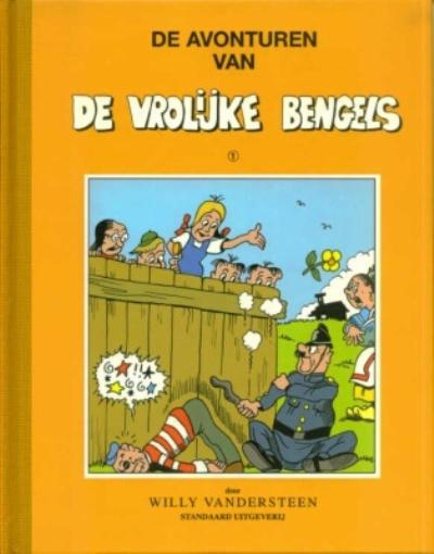 Cover for De avonturen van de vrolijke bengels (Standaard Uitgeverij, 1998 series) #1