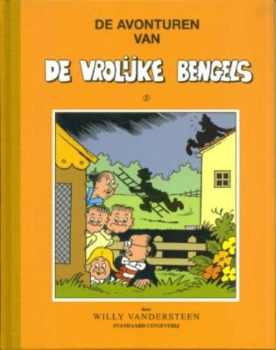 Cover for De avonturen van de vrolijke bengels (Standaard Uitgeverij, 1998 series) #2