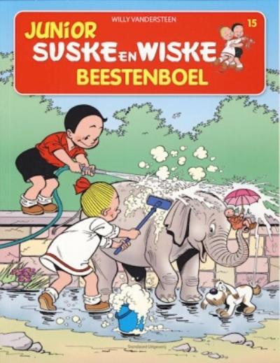 Cover for Junior Suske en Wiske (Standaard Uitgeverij, 2010 series) #15