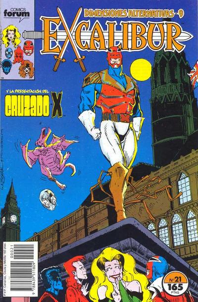 Cover for Excalibur (Planeta DeAgostini, 1989 series) #21