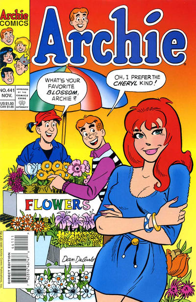 Cover for Archie (Archie, 1959 series) #441 [Newsstand]