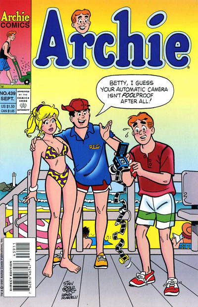 Cover for Archie (Archie, 1959 series) #439 [Direct]