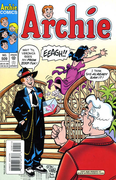 Cover for Archie (Archie, 1959 series) #509 [Newsstand]