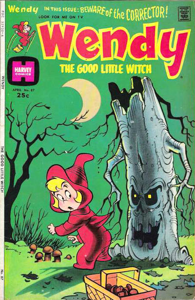 Cover for Wendy, the Good Little Witch (Harvey, 1960 series) #87