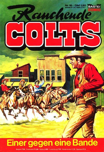 Cover for Rauchende Colts (Bastei Verlag, 1977 series) #16