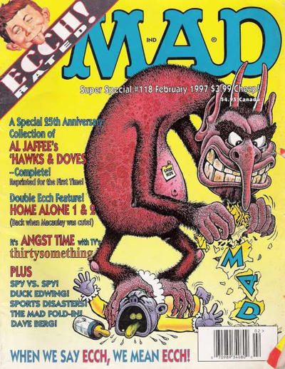 Cover for MAD Special [MAD Super Special] (EC, 1970 series) #118