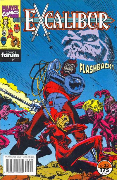 Cover for Excalibur (Planeta DeAgostini, 1989 series) #35