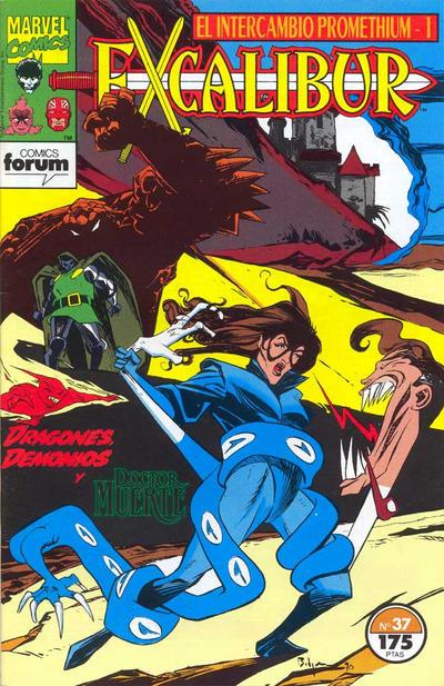 Cover for Excalibur (Planeta DeAgostini, 1989 series) #37