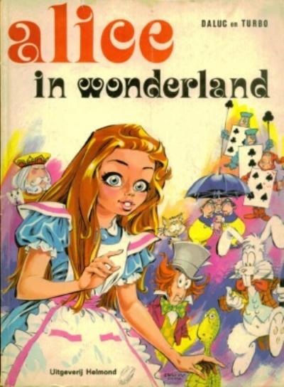 Cover for Alice in Wonderland (Uitgeverij Helmond, 1973 series)