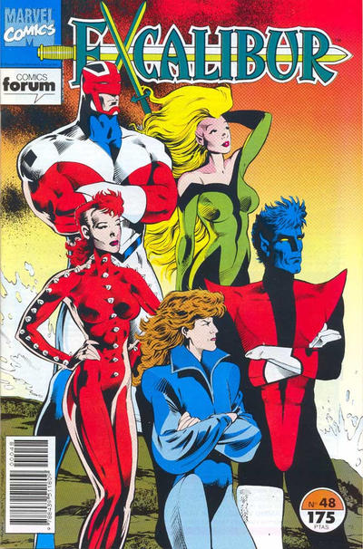Cover for Excalibur (Planeta DeAgostini, 1989 series) #48