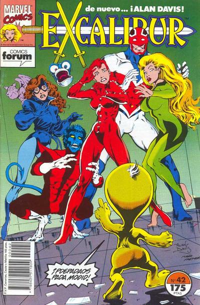 Cover for Excalibur (Planeta DeAgostini, 1989 series) #42