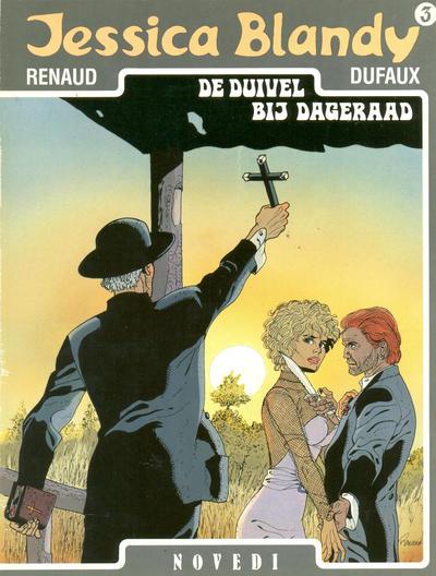 Cover for Jessica Blandy (Novedi, 1987 series) #3 - De duivel bij dageraad
