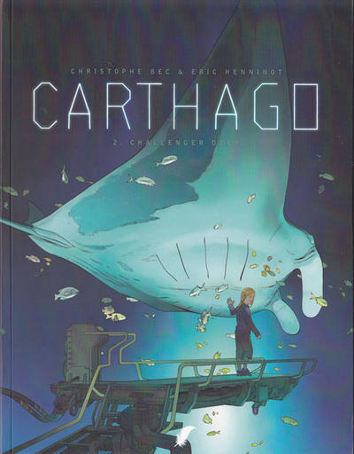 Cover for Carthago (Daedalus, 2007 series) #2 - Challenger Deep