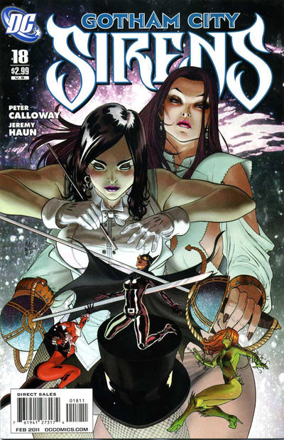 Cover for Gotham City Sirens (DC, 2009 series) #18