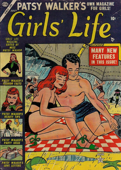 Cover for Girls' Life (Marvel, 1954 series) #4
