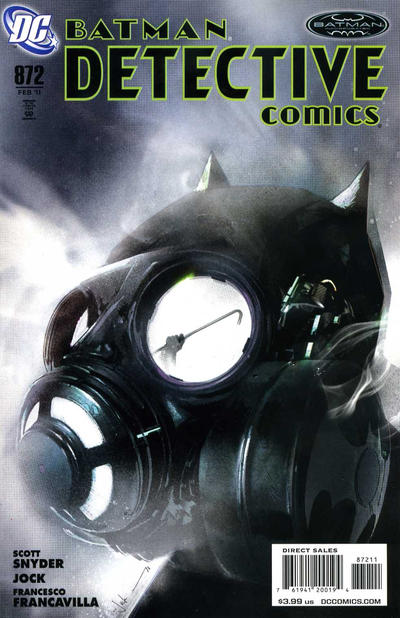 Cover for Detective Comics (DC, 1937 series) #872