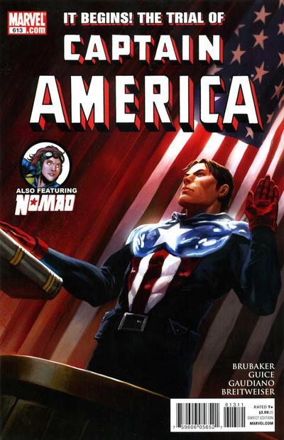 Cover for Captain America (Marvel, 2005 series) #613