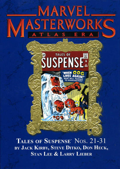 Cover for Marvel Masterworks: Atlas Era Tales of Suspense (Marvel, 2006 series) #3 [Regular Edition]