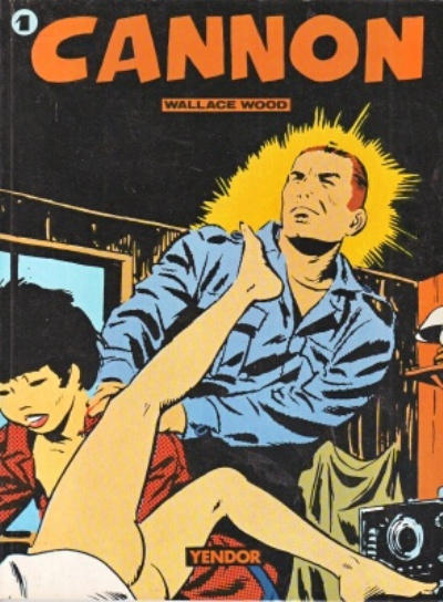 Cover for Cannon (Yendor, 1981 series) #1