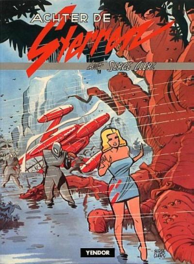 Cover for Achter de sterren (Yendor, 1981 series)