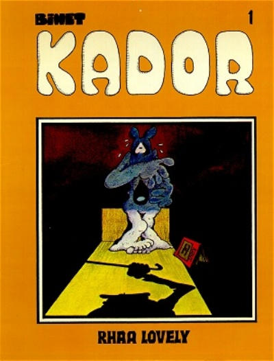 Cover for Kador (Yendor, 1983 series) #1