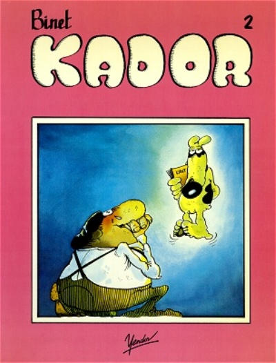 Cover for Kador (Yendor, 1983 series) #2