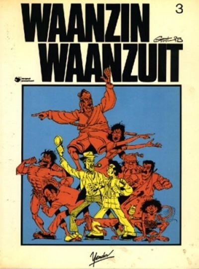 Cover for Waanzin waanzuit (Yendor, 1984 series) #3