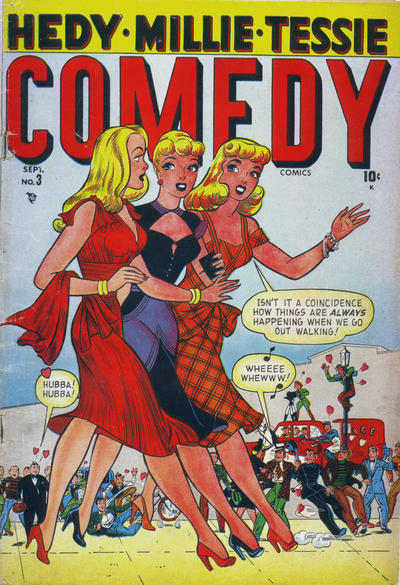 Cover for Comedy Comics (Marvel, 1948 series) #3