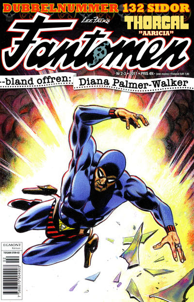 Cover for Fantomen (Egmont, 1997 series) #2-3/2011