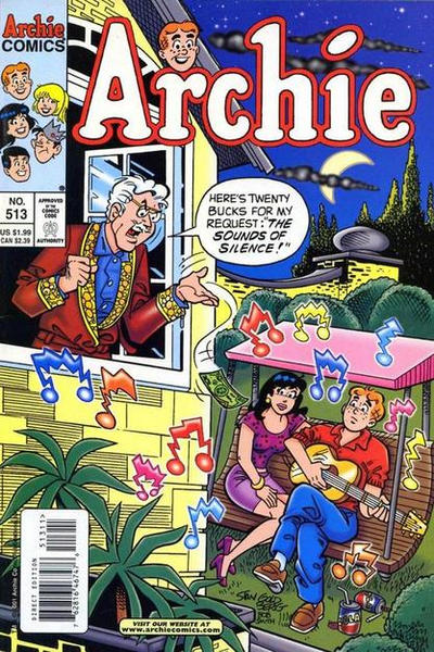 Cover for Archie (Archie, 1959 series) #513