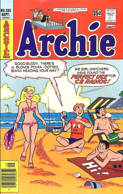 Cover for Archie (Archie, 1959 series) #265