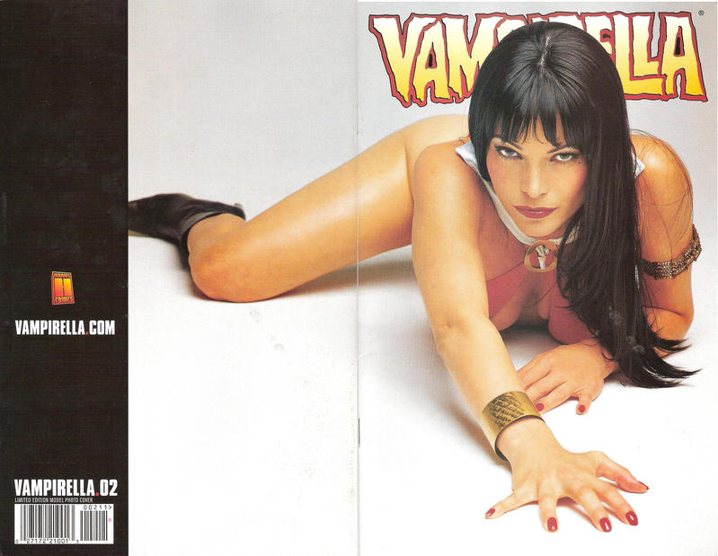 Cover for Vampirella (Harris Comics, 2001 series) #2 [Mike Mayhew Cover]