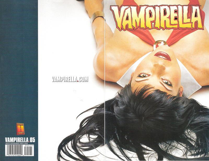 Cover for Vampirella (Harris Comics, 2001 series) #5 [David Finch Cover]
