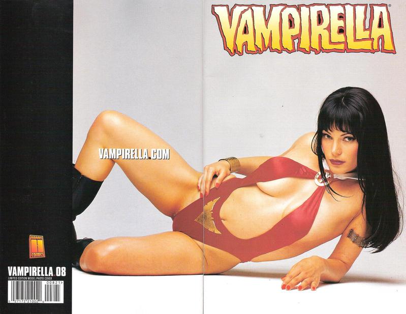 Cover for Vampirella (Harris Comics, 2001 series) #8 [Limited Edition Model Photo Cover]