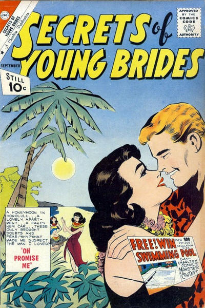 Cover for Secrets of Young Brides (Charlton, 1957 series) #27
