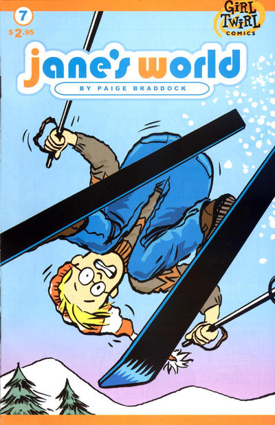 Cover for Jane's World (Girl Twirl Comics, 2002 series) #7