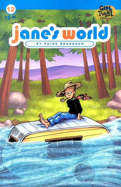 Cover for Jane's World (Girl Twirl Comics, 2002 series) #12