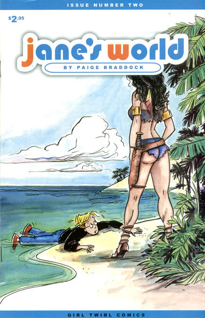 Cover for Jane's World (Girl Twirl Comics, 2002 series) #2