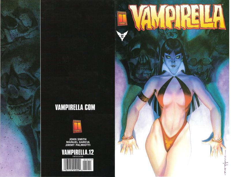 Cover for Vampirella (Harris Comics, 2001 series) #12 [Photo]