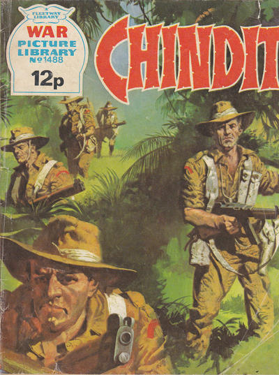 Cover for War Picture Library (IPC, 1958 series) #1488