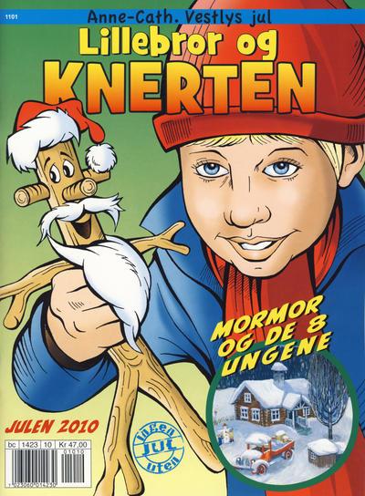 Cover for Anne-Cath. Vestlys jul (Hjemmet / Egmont, 2010 series) #2010