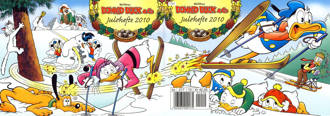 Cover for Donald Duck & Co julehefte (Hjemmet / Egmont, 1968 series) #2010