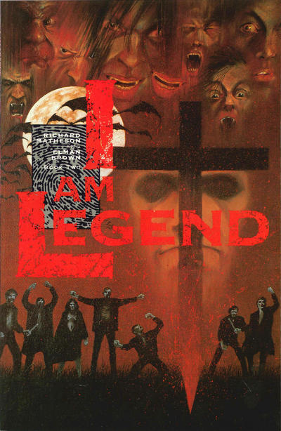 Cover for I Am Legend (Eclipse, 1991 series) #2
