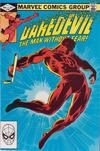 Cover for Daredevil (Marvel, 1964 series) #185 [Direct]