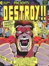 Cover for Destroy!! (Eclipse, 1986 series) #1